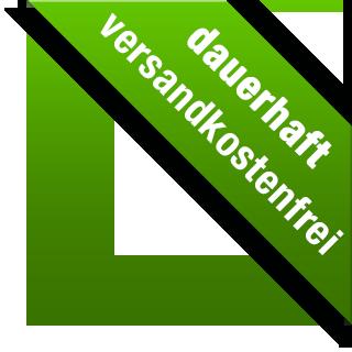 Banderole: Dauerhaft versandkostenfrei innerhalb Deutschlands