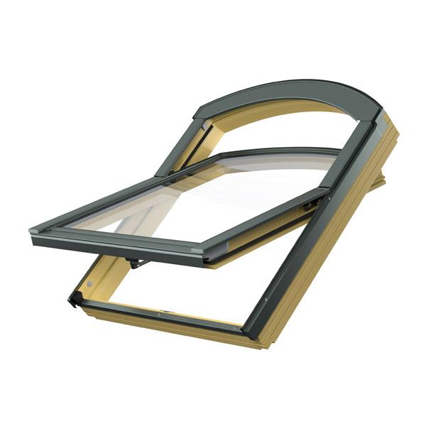 Rundbogen  Dachfenster FTP B