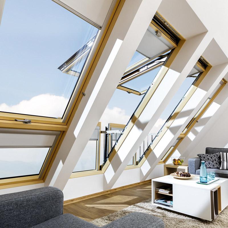 Fakro Ehv A G Thermo 94x255 Eindeckrahmen Fur Balkon Fenster