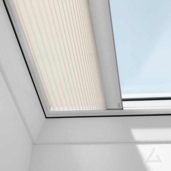 Plissee FMG elektrisch für Flachdach Fenster