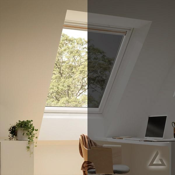 Schwingfenster mit elektrochromer Verglasung