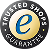 TRUSTED SHOPS zertifiziert