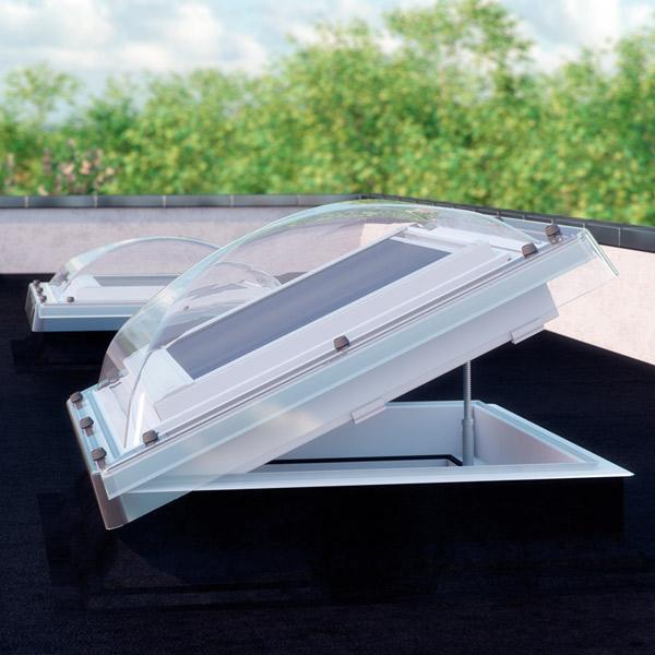 Flachdachfenster Netzmarkise