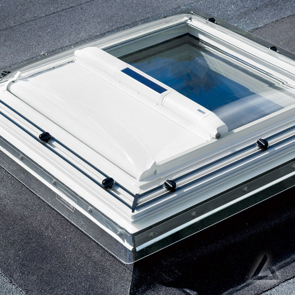 Markise MSG solar für Flachdach Fenster